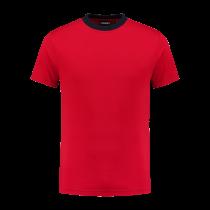 TS180 Indushirt T-Shirt 100 kat Rood/Marine
