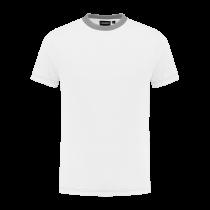 TS180 Indushirt T-Shirt 100 kat Wit/Grijs