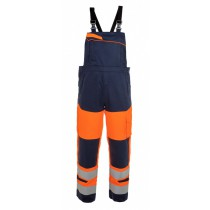 043499 Hydrowear Milos/Mol Bib and Brace Multi Venture Line High-Vis